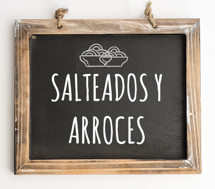 Salteados y arroces